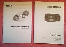Manuals/ GUIDES ONLY - Epson Artisan 810 Color Inkjet Printer Scanner Copier FAX