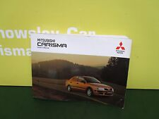 MITSUBISHI CARISMA DA2A [1995-2006] GENUINE OWNERS MANUAL
