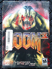DOOM 3 III PC Game Windows Computer three CD-Rom set, manuals, original box