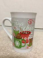 Royal Norfolk Christmas Holiday Coffee Mug 14 Fl oz  Cup Of Cheer Mugs Cups