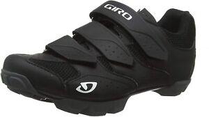 Giro Riela R Women's Mountain Cycling Shoe, Black/Charcoal, US 6 EU37