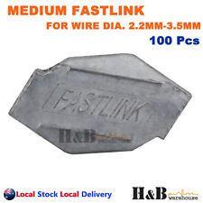 100X Fastlink Wire Joiners Fence Fencing Joiner Works With gripple Tensioning