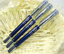 3 pcs pilot hi-tec- c Maica LHM-15C3-BB roller ball pen 0.3mm BLUE BLACK ink