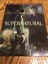 Supernatural: The Complete First Season (DVD, 2006, 6-Disc Set)