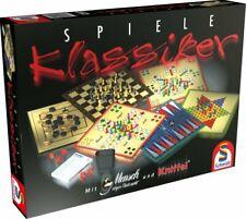 BÜ) Schmidt Spiele Sammlung Klassiker Spielesammlung mit Halma Schach Kniffel