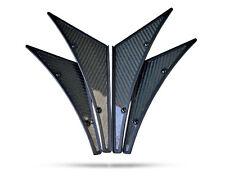 NRG Carbon Fibre Style Canards 4pc Universal- Evo/Impreza
