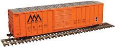 Atlas # 50003444 FMC 5077 50' Single-Door Boxcar Vermont Railroad # 4112 N MIB