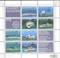 Schweiz Block23 (kompl.Ausg.) postfrisch 1978 LEMANEX ´78, Lausanne