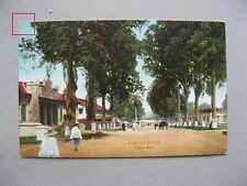 NEI NETHERLANDS INDIES, PPC (card Buitenzorg Djalan Besar) 1912