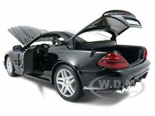 2010 2011 MERCEDES SL65 SL 65 COUPE AMG BLACK 1/18 MODEL CAR BY MAISTO 36193