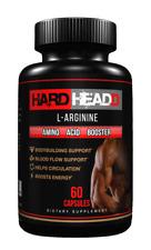 HARD HEADD L'Arginine - EXTRA STRENGTH - AMINO ACID BOOSTER
