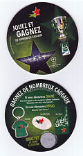 HEINEKEN RUGBY Sous bock coaster deckel #9 HCup 2012 Champions league foot