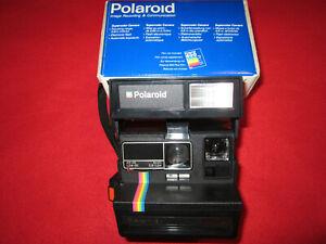 Polaroid Supercolor 635CL en boîte + notice (appareil photo vintage)