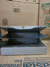 Vintage Curmanco 3 Shelf Metal Desk Top File Organizer
