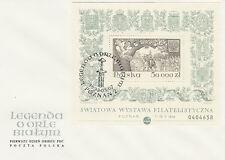 Poland FDC (Mi. B122) Polska 93 #1 SLANIA
