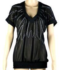 Ladies JeansWest Chiffon Shirt Size 14 ~ MBC