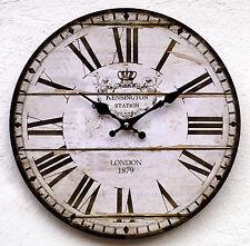 Wanduhr Küchenuhr Antik Design Modern Groß Küche XL Vintage Quarzuhr Uhr  Retro K Photo Gallery