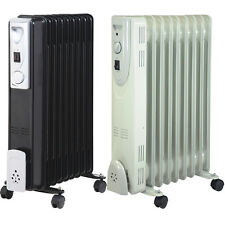 1500W 7 FIN PORTABLE OIL FILLED RADIATOR HEATER ELECTRICAL OFFICE HOME NEW DD1