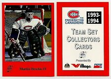 1993-94 Fredericton Canadiens Complete Mint Set (29)