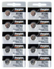 10 357 / 303 Energizer Watch Batteries SR44SW SR44W