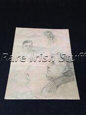 Countess Markievicz Drawing Of Eamon De Valera - Irish Photo Picture