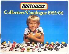 Australian Matchbox catalogue 1985/6