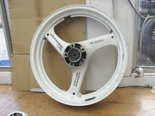 SUZUKI   GS500 E   EARLY MODEL 'BLACK ENGINE'   FRONT WHEEL,  J17 x MT 3.00 DOT