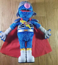 Sesame Street Talking Super Grover Plush Toy Hasbro 39995 (2011)