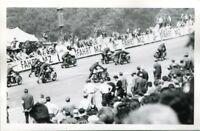 uralte AK, Photo-AK, Sachsenring Hohenstein-Ernstthal, Motorradrennen