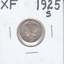 1925-S  Mercury Dime                      XF                      Tougher Grade
