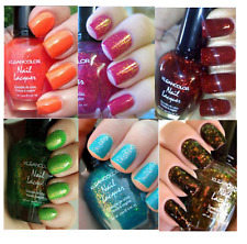 Kleancolor Chunky Holo Answer of Significance 6pc Lot Nail Polish Lacquer 722