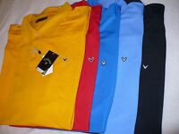 $75 NEW NWT CALLAWAY GOLF MEN'S BIG & TALL PERFORMANCE POLO SHIRT SIZE 2X 3X S/S
