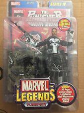 The Punisher White Belt 2003 ToyBiz Marvel Legends Series IV Figure MIP