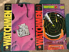 Watchmen 4 & 10 Dc Comics 1986 Alan Moore Dave Gibbons Dr Manhattan Hbo Hot! 1st