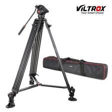 VILTROX VX-18M Anti-rust Adjustable Tripod 360°Fluid Damping Ball Head for DSLR