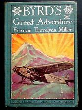 Byrd's Great Adventure: RARE Publisher's Sample c. 1930 North & South Poles
