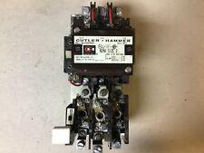 Cutler Hammer A10dno A10dn0 Size 2 Motor Starter With 240 Volt Coil