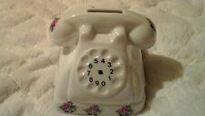 Vintage telephone piggy bank