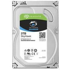 """Disque dur 3 To Seagate Skyhawk st3000vx010 3,5"""" 6 Gbit/S SATA DVR Fonctionnement Continu"""