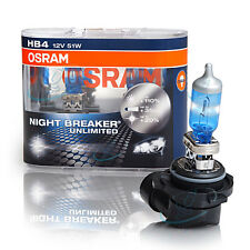 Osram HB4 P22d Night Breaker UNLIMITED plus 110% More Light 2pcs 9006NBU