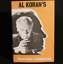 Al Koran Professional Presentations (Limited/Out of Print) by Al Koran - Book