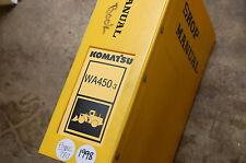 KOMATSU WA450-3 Front End Wheel Loader Service Repair Manual book shop Overhaul