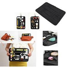 Elastic Rubber Band Organizer Board Grid Storage Bag Pocket Item Holder Bag New