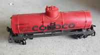 Vintage HO Scale Life Like Conoco Red Tank Car