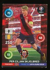 131 CILJAN SKJELBRED NORWAY CARTE CARD ADRENALYN ROAD TO UEFA EURO 2016 PANINI D