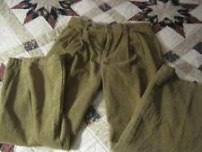 IZOD ~ BOYS ~ KHAKI CORDUROY PANTS ~ PLEATED FRONT ~ SIZE 10 ~ NWT