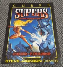 GURPS Supers - Second Edition - Softcover - Steve Jackson Games 6017 - New