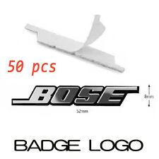 50x NEW BOSE Speaker Sticker Badge Emblem for Car Audio Mercedes, BMW, VW, AUDI