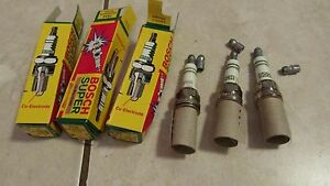 Bosch Super 7556 - Spark Plug - Lot of 3 - NEW
