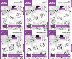 Crafter's Companion Real Meaning of Christmas Verse Stamps - Clear Acrylic Stamp